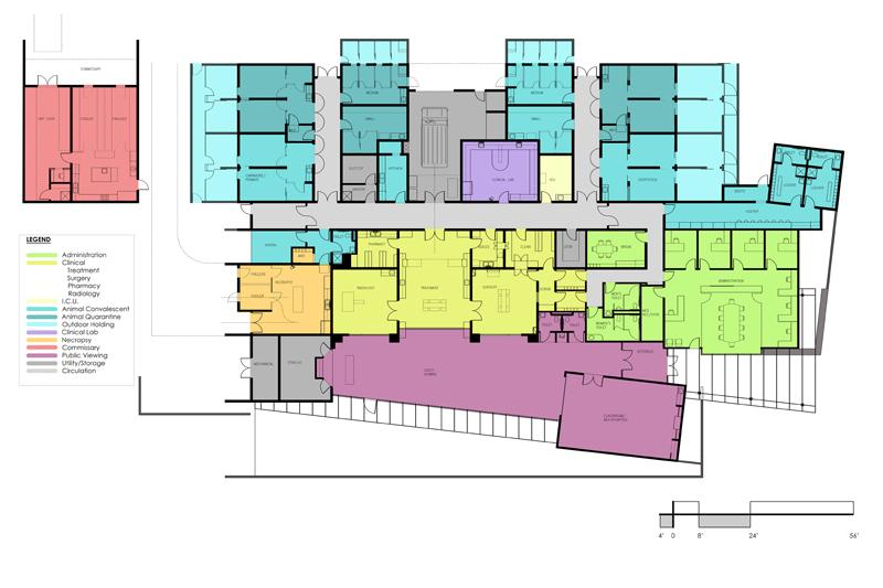 Barangay Health Center Floor Plan